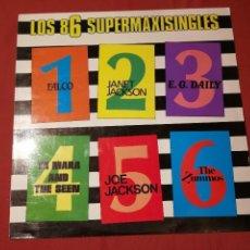 Discos de vinilo: LOS 86 SUPERMAXISINGLES.. 1986...VARIOS. Lote 124873999