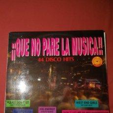 Discos de vinilo: ¡¡QUE NO PARE LA MÚSICA!! 3 LPS. Lote 124996755