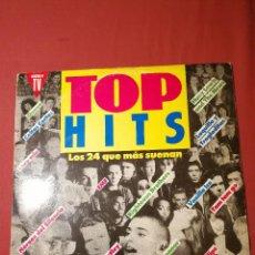 Discos de vinilo: TOP HITS LOS 24 QUE MÁS SUENAN. Lote 125003707