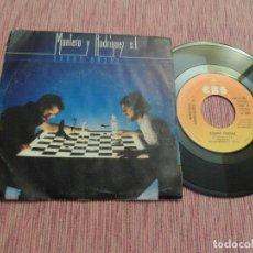 Discos de vinilo: MANTERO Y RODRIGUEZ S.L. - SOBRE ONDAS / LA RECETA. Lote 125026995