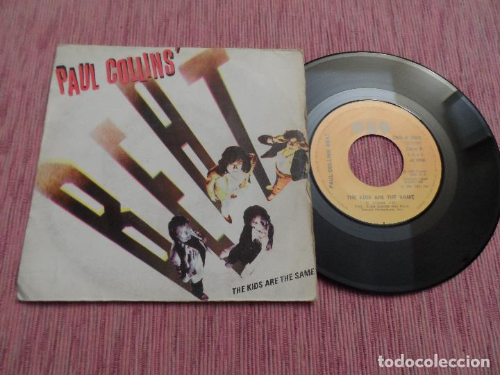 PAUL COLLINS BEAT - THE KIDS ARE THE SAME (Música - Discos de Vinilo - Singles - Pop - Rock Internacional de los 80)