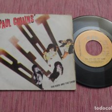 Discos de vinilo: PAUL COLLINS BEAT - THE KIDS ARE THE SAME. Lote 125027055