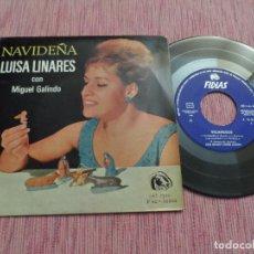 Discos de vinilo: LUISA LINARES CON MIGUEL GALINDO - NAVIDEÑA +3. Lote 125027123