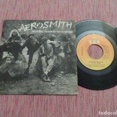 Discos de vinilo: AEROSMITH - RECUERDA (PASEANDO POR LA ARENA). Lote 125027291