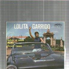 Discos de vinilo: LOLITA GARRIDO SABOR A NADA. Lote 125044311