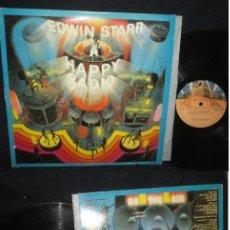 Discos de vinilo: EDWIN STARR - HAPPY RADIO 1979, SOUL FUNK DISCOS, ORG EDT USA. Lote 125058643