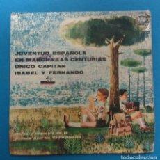 Discos de vinilo: CANCIONERO DEL FRENTE DE JUVENTUDES - COROS DE LA CADENA AZUL DE RADIODIFUSION. Lote 125061463