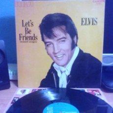Discos de vinilo: ELVIS PRESLEY - LETS BE FRIENDS. Lote 125061499