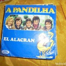 Discos de vinilo: A PANDILHA. EL ALACRAN + 3. EP. MOVIEPLAY, EDITADO EN PORTUGAL 1975. VINILO IMPECABLE. Lote 125088111