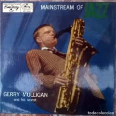 Discos de vinilo: GERRY MULLIGAN. MAINSTREAM OF JAZZ. AIN'T IT THE TRUTH/ IGLOO. MERCURY, SWEDEN 1957 SINGLE. Lote 125092551