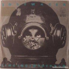 Discos de vinilo: JUST WATER...SINGIN' IN THE RAIN. (STIFF RECORDS 1979 ) SPAIN.. Lote 125096959