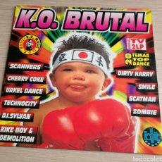 Discos de vinilo: 2 X LP K.O. BRUTAL BIT MUSIC RECOPILACION. Lote 125111592