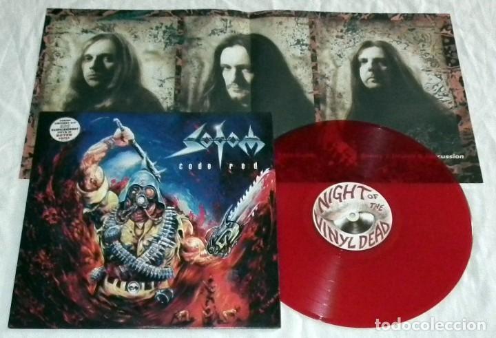 Discos de vinilo: LP SODOM - CODE RED - Foto 3 - 125115995
