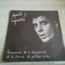 Discos de vinilo: LOQUILLO Y TROGLODITAS - ENAMORADO DE LA DEPENDIENTA DE LA TIENDA DE PATATAS FRITAS / 77 - PROMO!. Lote 125120399