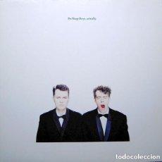 Discos de vinilo: PET SHOP BOYS – ACTUALLY - LP, ALBUM, DMM, EUROPE 1987. Lote 125121439
