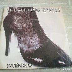 Discos de vinilo: THE ROLLING STONES – ENCIÉNDELO – SPAIN 1981 – EMI ODEON 10C 006-064 545. Lote 125121551