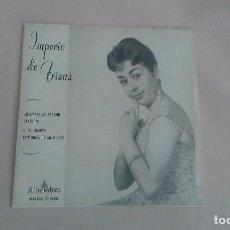 Discos de vinilo: EP IMPERIO DE TRIANA MESONERA DE ARAGON COPLA VINILO. Lote 125121639