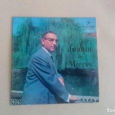 Discos de vinilo: EP JUANIN DE MIERES ARREA CARRETERO TONADA ASTURIANA VINILO. Lote 125122995