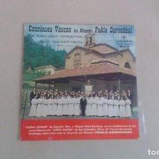 Discos de vinilo: EP CANCIONES VASCAS DEL MAESTRO PABLO SOROZABAL VINILO. Lote 125125291