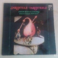 Discos de vinilo: LP TARENTULE TARENTELLE ATRIUM MUSICAE DE MADRID FOLKLORE VINILO. Lote 125126371