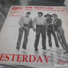 Discos de vinilo: SINGLE - THE BEATLES. Lote 125126643