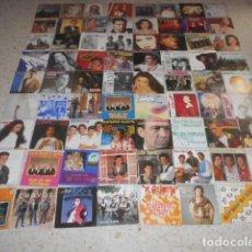 Discos de vinilo: SUPERLOTE DE 72 SINGLES. Lote 125126979