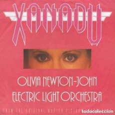 Discos de vinilo: OLIVIA NEWTON-JOHN / ELECTRIC LIGHT ORCHESTRA – XANADU - SINGLE EUROPE 1980. Lote 125133623