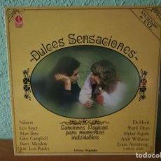 Discos de vinilo: DULCES SENSACIONES.. 1980... Lote 125138207