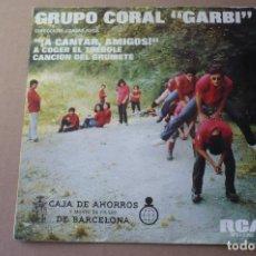 Discos de vinilo: GRUPO CORAL GARBI. Lote 125139711