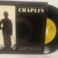 Discos de vinilo: JOHN BARRY - CHAPLIN. Lote 125147127