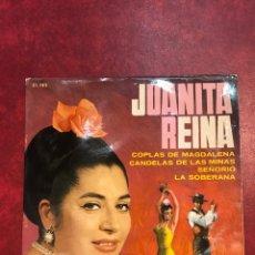 Discos de vinilo: JUANITA REINA SINGLE EP DE 1965. Lote 125150278