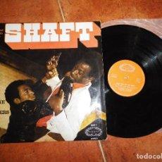 Discos de vinilo: ISAAC HAYES MACK BROWNE & THE BROTHERS BANDA SONORA DE SHAFT LP VINILO DEL AÑO 1972 ESPAÑA 10 TEMAS. Lote 125153527