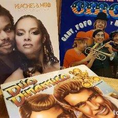 Discos de vinilo: POP-ROCK / LPS Y MAXIS / ESPAÑOL Y EXTRANJERO / LOTE DE 27 VINILOS CON MARCAS DE USO / VER FOTOS.. Lote 125156639