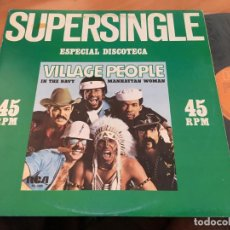 Discos de vinilo: VILLAGE PEOPLE (IN THE NAVI) MAXI SINGLE ESPAÑA 1979 (VIN-A3). Lote 125174571