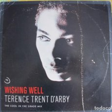 Discos de vinilo: MAXI - TERENCE TRENT D'ARBY - WISHING WELL/WONDERFUL WORLD/ELEVATORS AND HEARTS. Lote 125208403