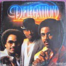 Discos de vinilo: LP - DELEGATION (FUNK, SOUL) - SAME (SPAIN, ARIOLA RECORDS 1981). Lote 125211371