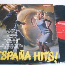Discos de vinilo: ESPAÑA HITS -LP VARIOS. Lote 125215327