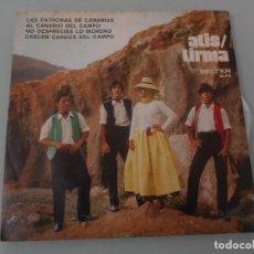 Discos de vinilo: *.- EP FOLKLORE CANARIO DE ATIS -TIRMA - AÑO 1971.. Lote 125222611