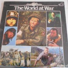 Discos de vinilo: GREAT MOVIES- THE WORLD AT WAR-LP DEL FILM-PRECINTADO. Lote 125226755