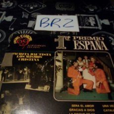 Disques de vinyle: SINGING EUROPE 69 BELTER VER FOTOS CAJA REPARADA CON CINTA ALGUNA ARRUGA Y MANCHA. Lote 125242318