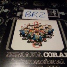 Discos de vinilo: SEMANA CORAL INTERNACIONAL DE ALAVA. Lote 125242968