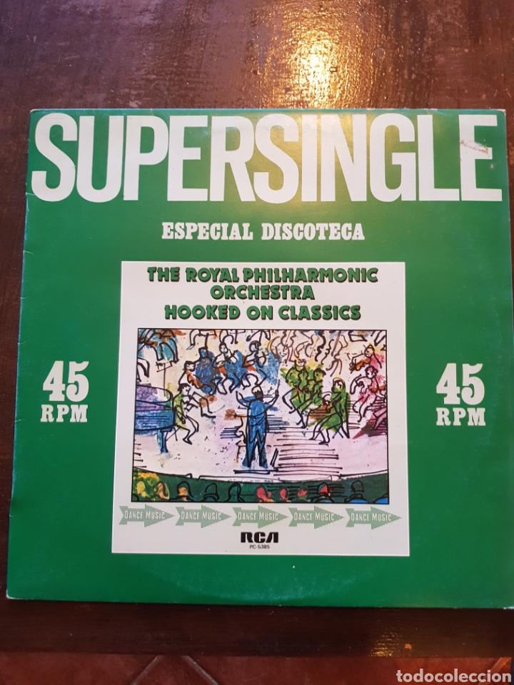 ROYAL PHILARMONIC ORCHESTRA. HOOKED ON CLASSICS. MAXISINGLE. RCA. 1981 (Música - Discos de Vinilo - Maxi Singles - Orquestas)