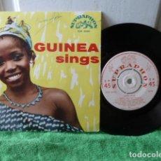 Discos de vinilo: GUINEA SING-. Lote 125255903