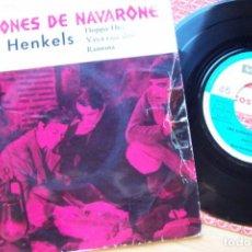 Discos de vinilo: LOS CAÑONES DE NAVARONE - BANDA SONORA DE LA PELICULA, DIMITRI TIOMKIN (SINGLE 45RPM). Lote 125256339
