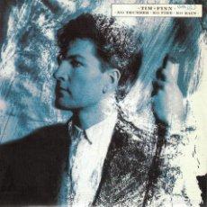 Discos de vinilo: TIM FINN - NO THUNDER, NO FIRE, NORAIN / SEARCHING THE STREETS (SINGLE ESPAÑOL, VIRGIN 1986). Lote 125262895