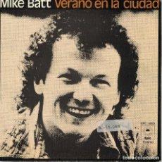 Discos de vinilo: MIKE BATT - SUMMERTIME CITY / CHILDREN OF THE STORM (SINGLE ESPAÑOL, EPIC 1975). Lote 125264603