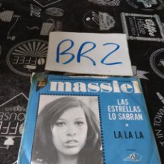 Discos de vinilo: MASSIEL LAS ESTRELLAS LO SABRAN LA LA LA 1968. Lote 125265035