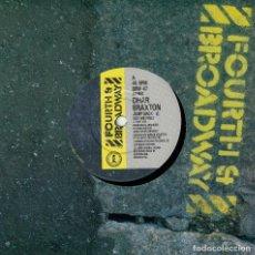 Discos de vinilo: DHAR BRAXTON - JUMP BACK (TWO VERSIONS) . Lote 125265355