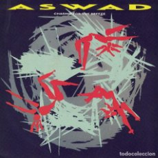 Discos de vinilo: ASWAD - CHASING FOR THE BREEZE / GAVE YOU MY LOVE (SINGLE INGLES, ISLAND 1984). Lote 125265623