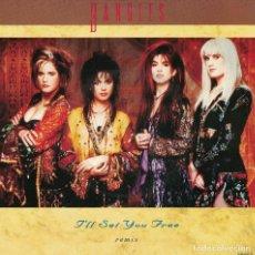 Discos de vinilo: BANGLES - I'LL SET YOU FREE / WATCHING THE SKY (SINGLE INGLES, CBS 1987). Lote 125269615